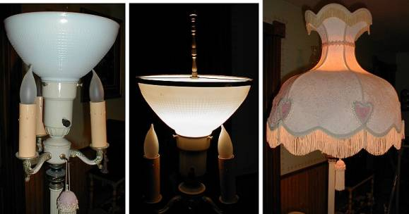 shades of the past floor lamp restoration parts torchiere glass shades. Black Bedroom Furniture Sets. Home Design Ideas